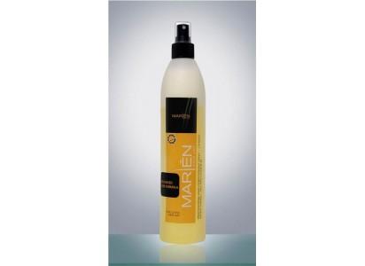 Casa Cosmetics dwufazowa odżywka do prostowania włosów żółta 400ml