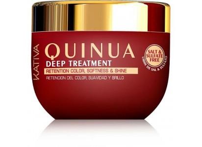 Kativa Quinua maska rewitalizująca do włosów farbowanych 250ml