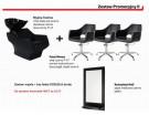 Zestaw 1x myjnia techno 3x fotel marea 1x konsola half