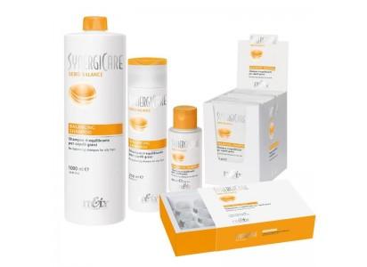 Itely Synergicare Sebo Balance szampon regulujący włosy przetłuszczające 1000ml